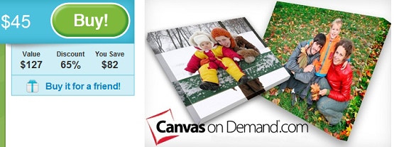 canvas on demand groupon