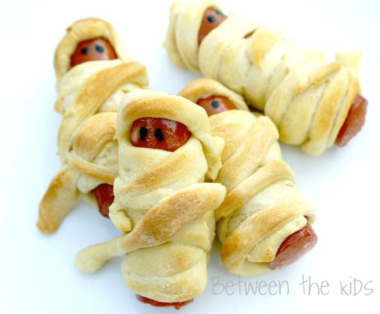 mummy dogs halloween recipe