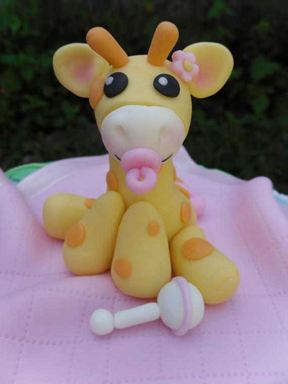 Plastic Giraffe Cake Topper