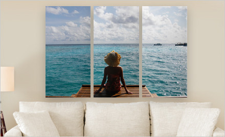 canvas on demand photosplit groupon free shipping photography