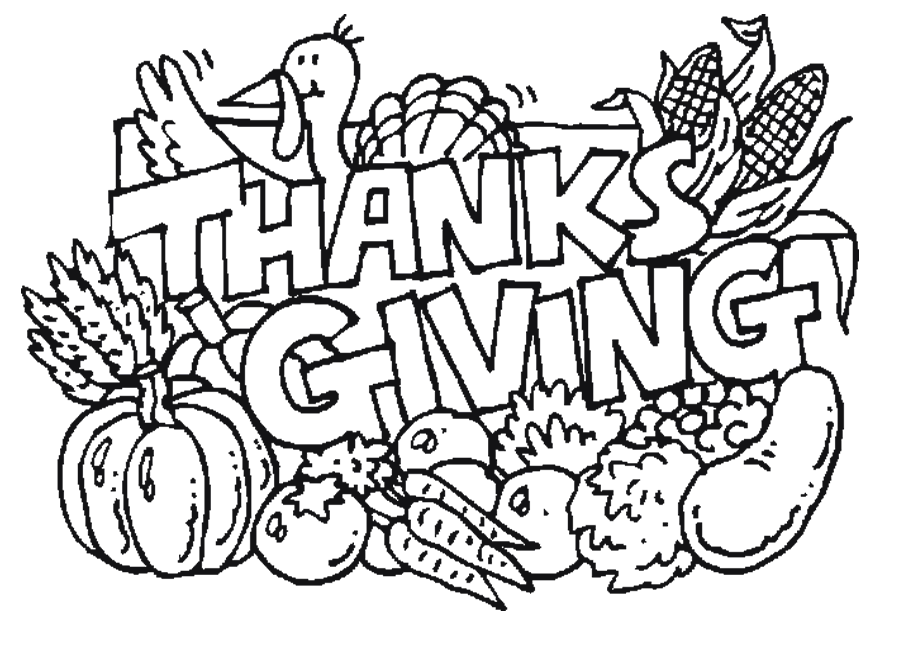 thanksgiving coloring pages and worksheets - photo#3