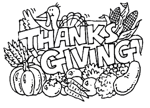 Free Thanksgiving Coloring Pages & Games Printables | #thankgiving