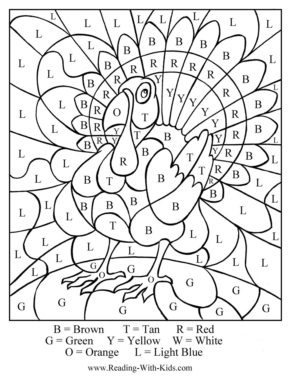 thanksgiving coloring and activity pages - photo#23