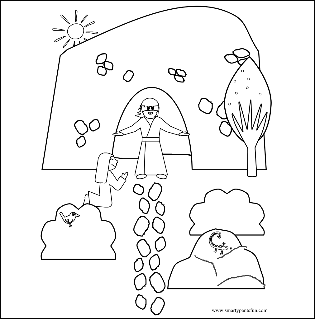 religious coloring pages for toddlers - photo#45