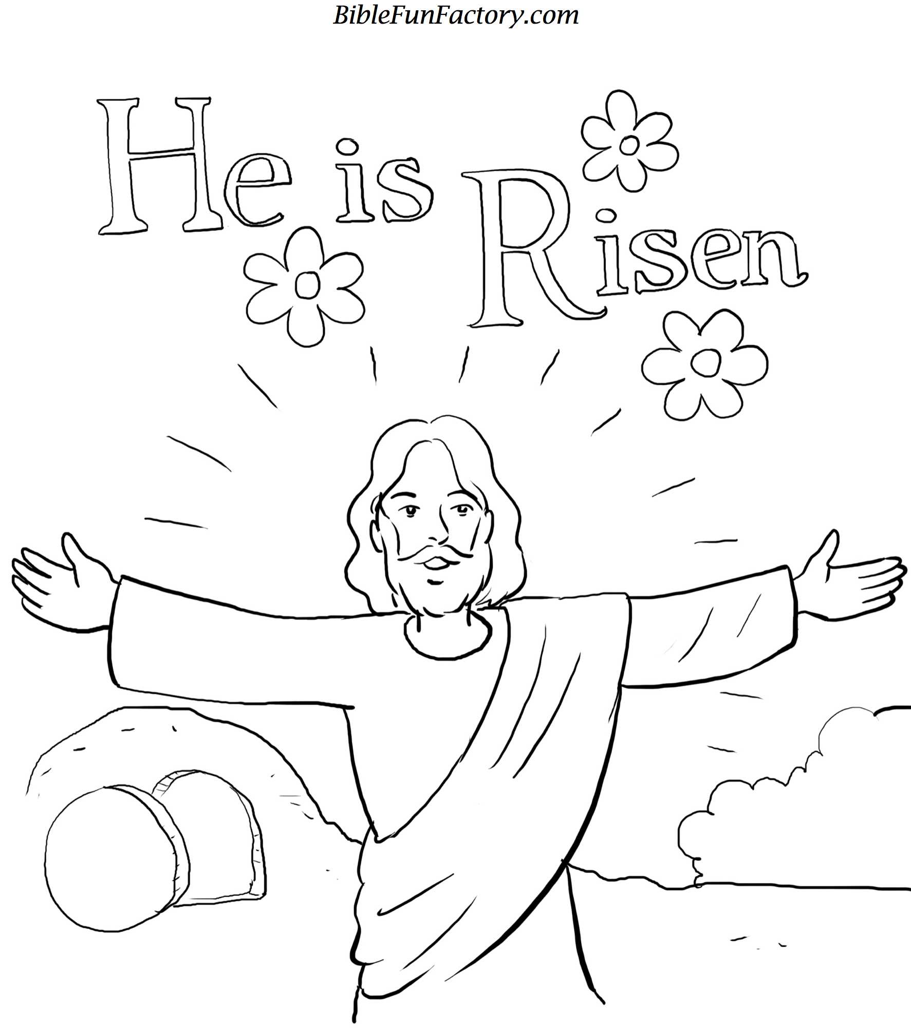 religious coloring pages for toddlers - photo#39