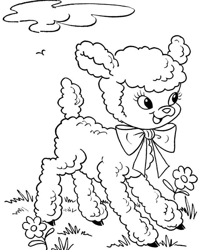 free easter coloring book pages - photo#20