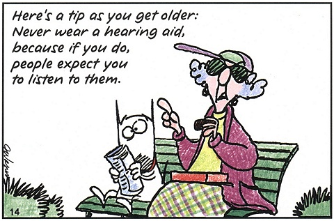 Maxine On Hearing Aids