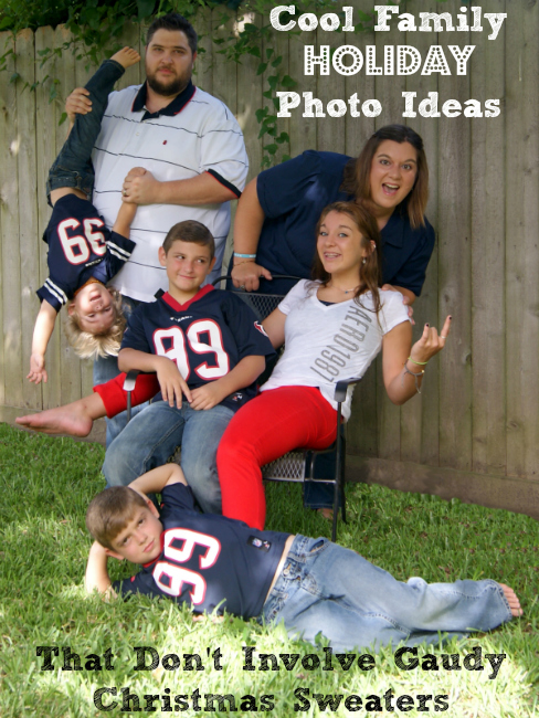 Cool Family Holiday Photo Ideas Photography