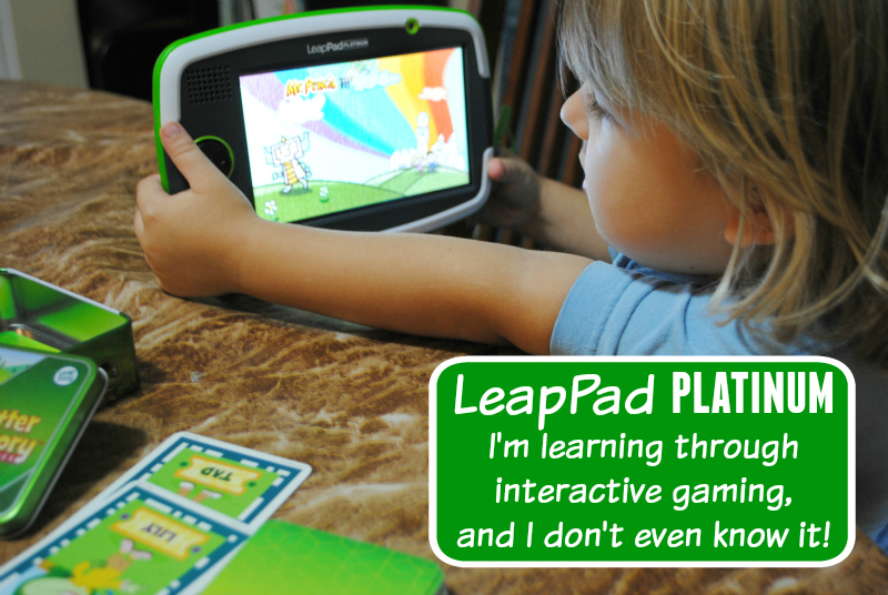 LeapPad Platinum Learning through Interactive Games | #LeapFrogMom